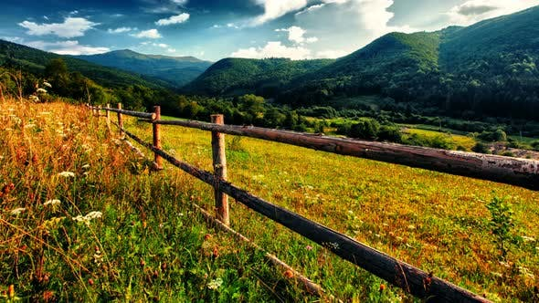 Cover Image for HDR Mountain Landscape