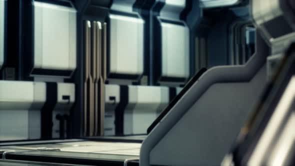 Thumbnail for Futuristic Sci Fi Spaceship Interior