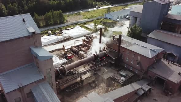 Thumbnail for Industrial zone on a sunny summer day