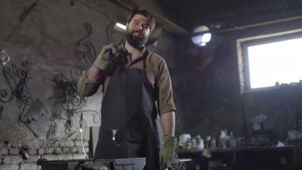 Thumbnail for Caucasian Bearded Blacksmith