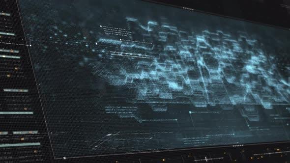 Thumbnail for Futuristic Matrix Cyber Environment 01