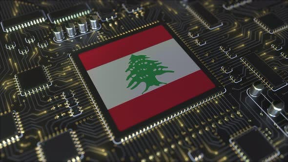 Thumbnail for Flag of Lebanon on the Operating Chipset
