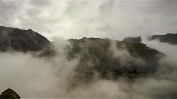 Thumbnail for Peaks in clouds