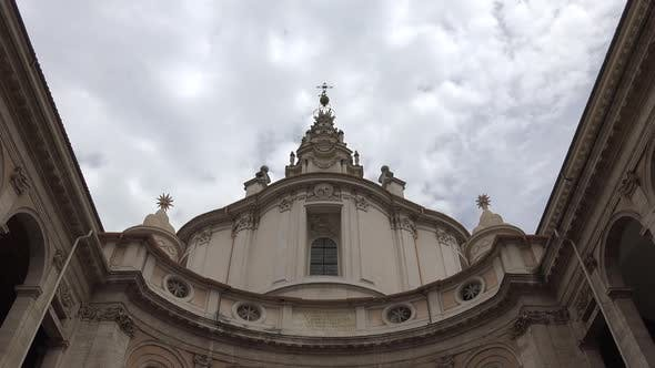 Thumbnail for Building in Traditional Old Italian and Medieval Ancient Roman Architectural Culture in Rome City
