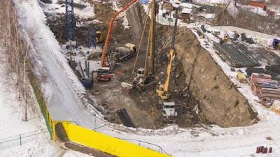 Timelapse Construction Start