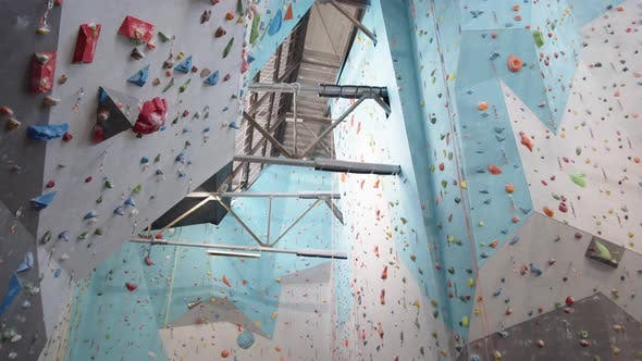 Thumbnail for Interior of Climbing Center