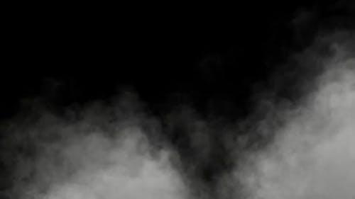 Dampf-Nebelwand