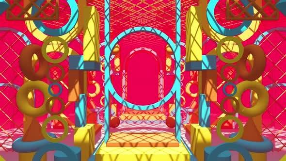 Colorful On Shape Geometry 01 HD