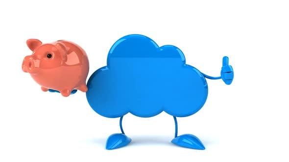 Thumbnail for Fun cloud character