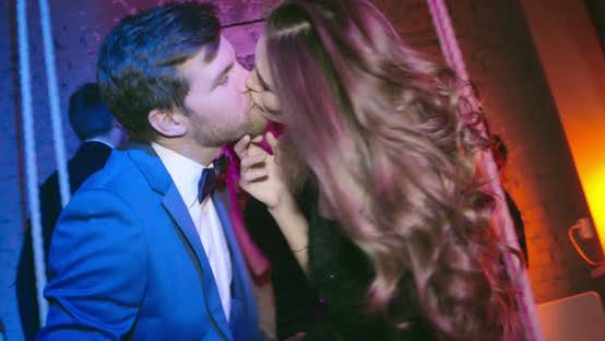 Thumbnail for Kissing at Party