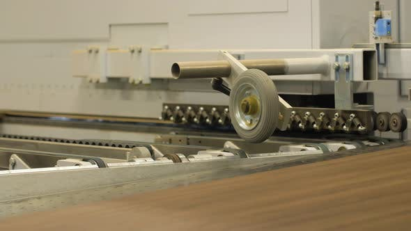Thumbnail for Chipboards on Conveyer at Furniture Factory