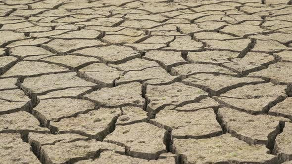 Thumbnail for Dried Mud Bottom of Studena Dam in Bulgaria. Climate Change and Low Rainfalls Causing the Dam To Dry