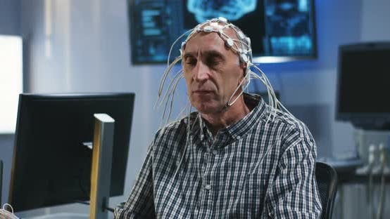 Thumbnail for Patient Being Tested During EEG Examination