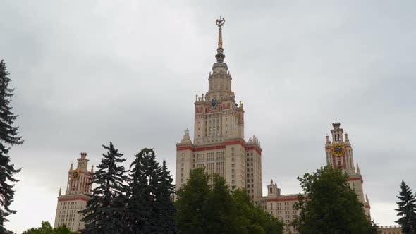 Thumbnail for Building Lomonosov Moscow State University