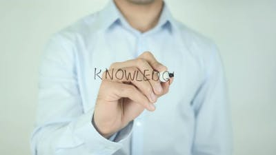Knowledge, Writing On Screen