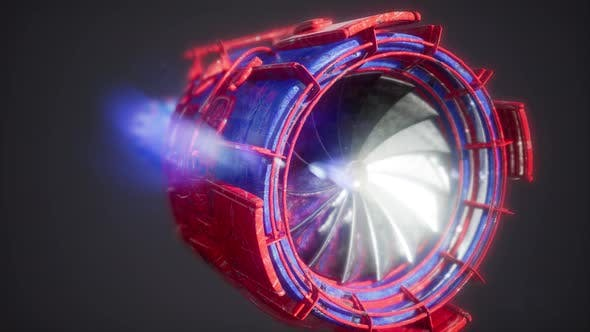 Cover Image for Jet Engine Turbine Parts
