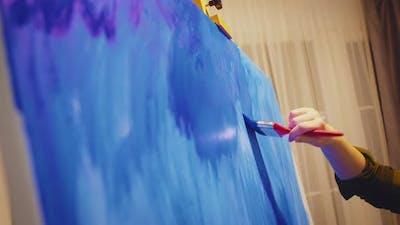 Painting Brush Technique