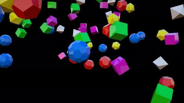 Thumbnail for Colorful Geometric 03 4k