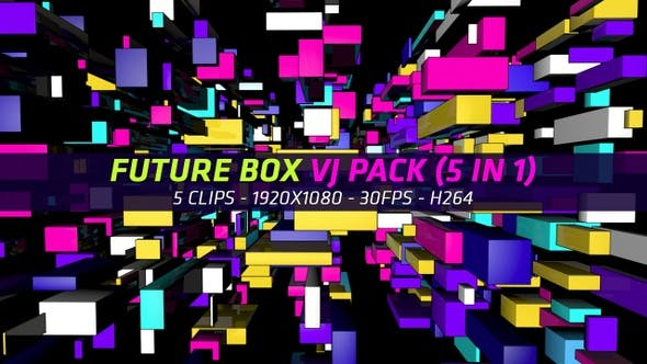 Thumbnail for Future Box Vj Pack (5 In 1)