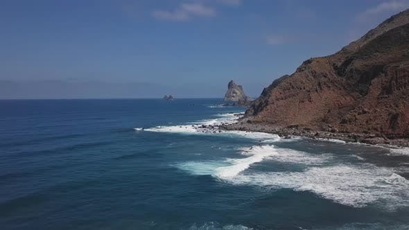Thumbnail for Aerial of Benijo Beach, Tenerife