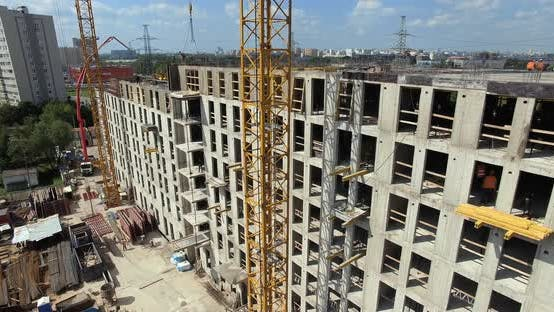A Vertical Inspection of Construction Site of a Multi Storey Building