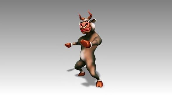 Happy Bull - Cartoon Dance 8