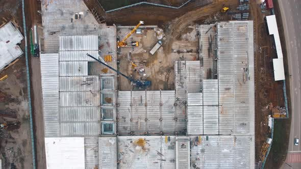 Building Construction From Above