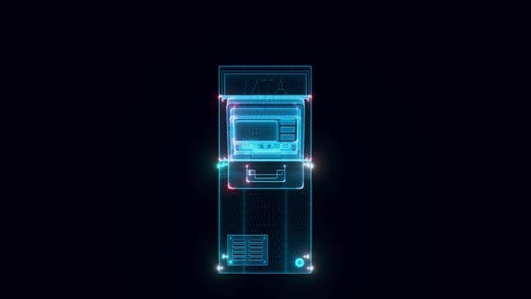 Automated Teller Machine Or Atm Hologram Hd