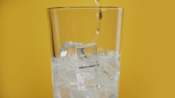 Thumbnail for Pouring Transparent Fizzy Drink