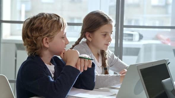 Children Working in Class