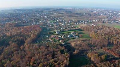 Town in Autumn