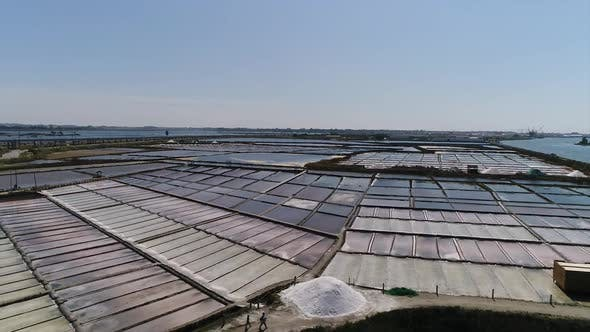 Thumbnail for Aerial View of Salt Extraction