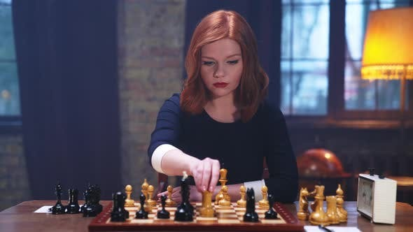 Young Queen Checkmate