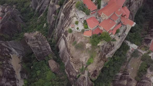 Cover Image for Grand Monastery Of Meteora, Greece