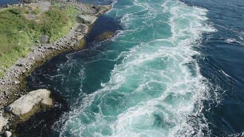 Saltstraumen norway water maelstrom nature