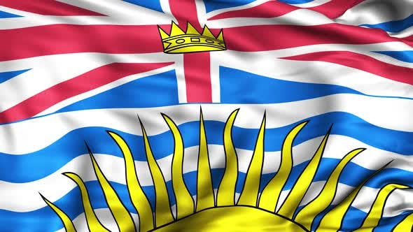 Thumbnail for British Columbia Province Flag