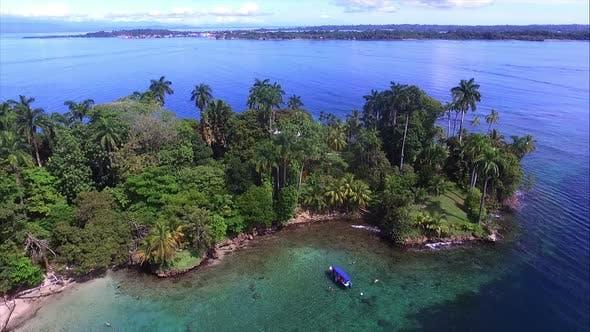 Thumbnail for Virgin Unspoiled Caribbean Island Beach