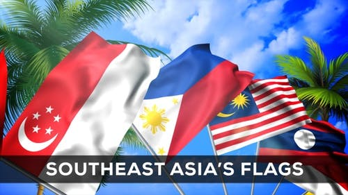 Southeast Asia's Flags