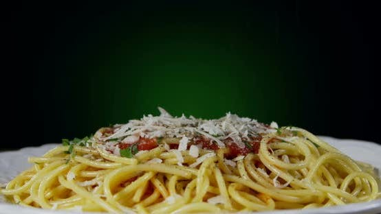 Thumbnail for Seasoning Spaghetti Dinner With Black Pepper 81b