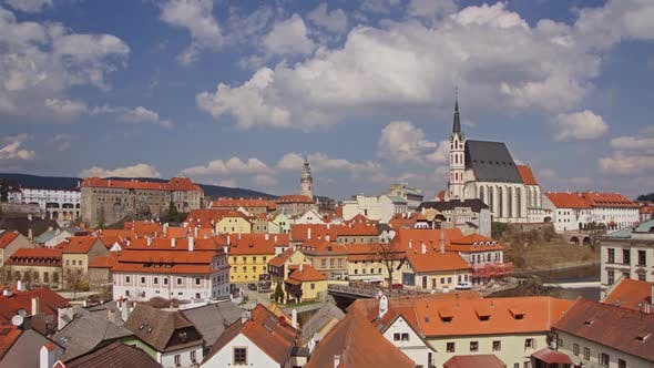 Thumbnail for Krumlov Town In Czech Republic