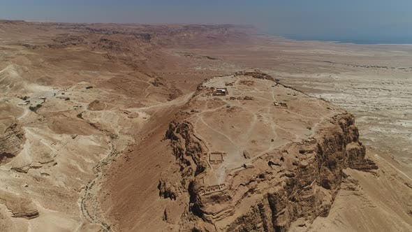 Thumbnail for Aerial of Masada