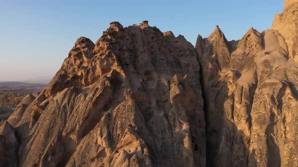 Unique Geological Formations at Cappadocia, Turkey