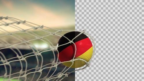 Soccer Ball Scoring Goal Day - Germany