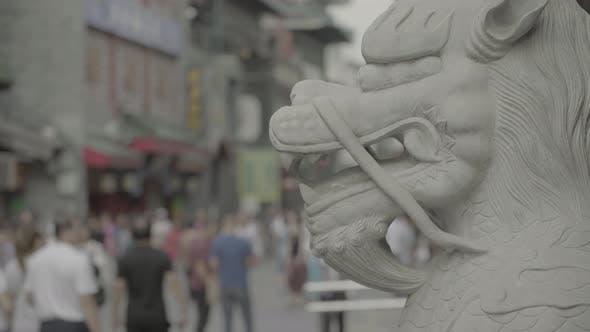 Thumbnail for Shopping Street Dashilan. Beijing. China. Asia
