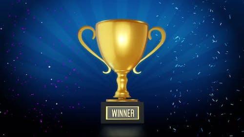 Winner Trophy Loop