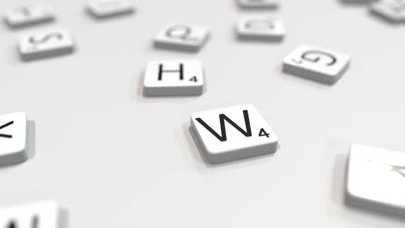 Thumbnail for WIN Word Being Made with Letters