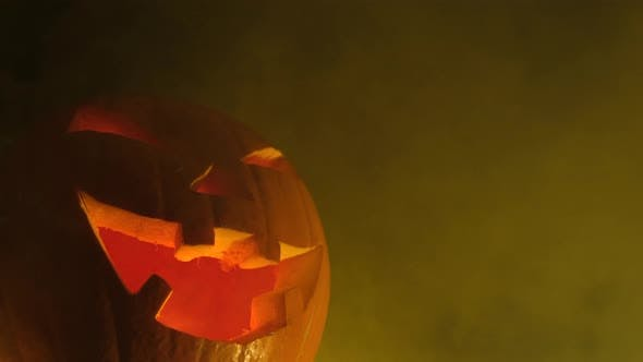 Thumbnail for Halloween Pumpkin at Night