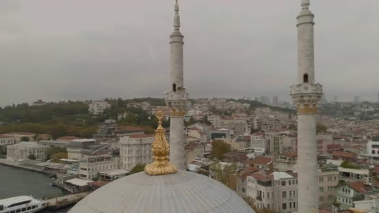 Thumbnail for Istanbul Ortakoy Mosque And Bosphorus Bridge