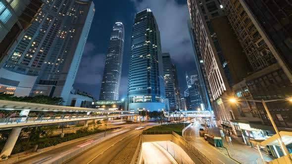 Thumbnail for Hong Kong, China | The Downtown Traffic at night