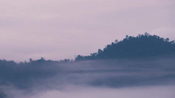 Thumbnail for Fog Moving With Mountain